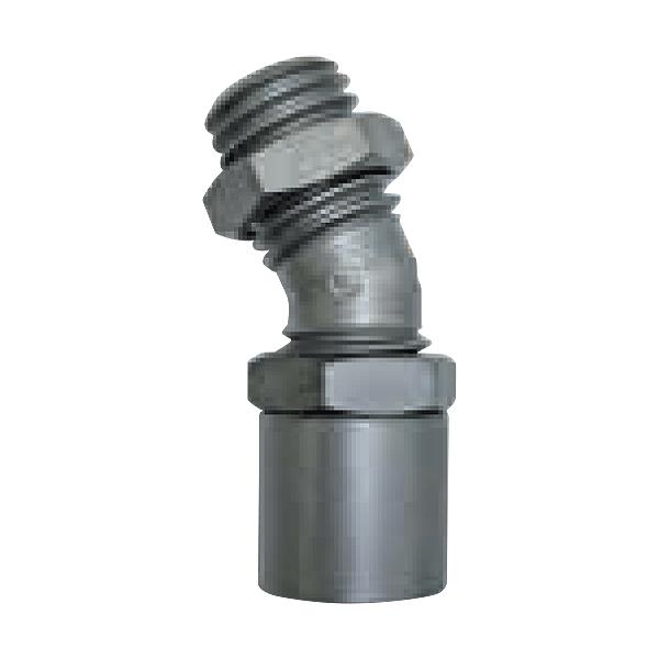 Angled adapter 25° angular M14