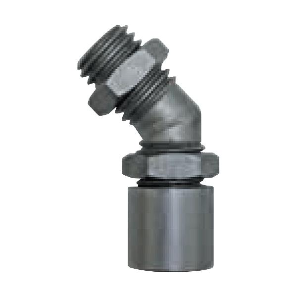 Angled adapter 40° angular M14